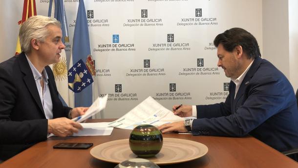 A Xunta de Galicia destinou á atención das e dos galegos da Arxentina e O Uruguai preto de tres millóns de euros só en 2018