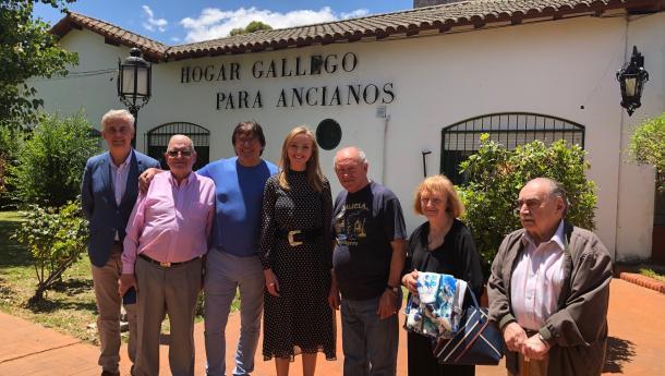 A Xunta garante a atención residencial das e dos 120 usuarios do Hogar Gallego para anciáns de Domselaar, en Bos Aires