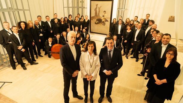 O Gaiás énchese coa música dos países da etapa no exilio e na diáspora de Castelao cun concerto da Filharmonía de Galicia