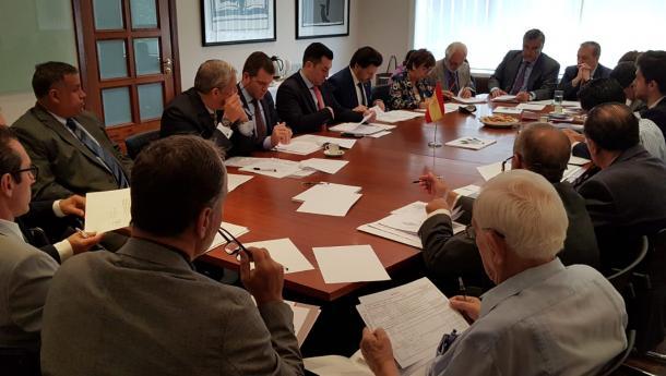 Miranda renova o compromiso do Goberno galego coa Fundación España Salud con recursos e propostas que levan a avanzar en prestacións sociais para os españois e as españolas de Venezuela