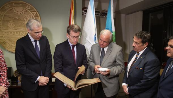 Feijóo explora con el alcalde del Condado de Miami-Dade nuevas vías de intercambio comercial en sectores como el turismo, el contract y el aeronáutico