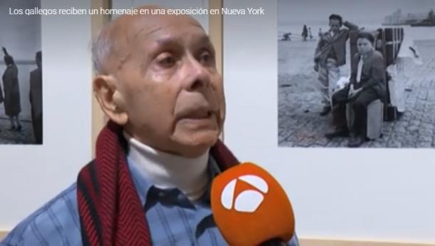 """TVG e Antena 3 recollen a inauguración de """"Os Adeuses"""" en Nova York"""