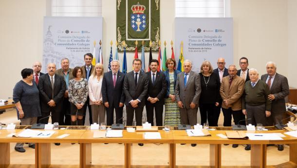 Feijóo pide ás e aos galegos do exterior que sexan embaixadores do Xacobeo 2021 e convertan o próximo Ano Santo no mellor da historia