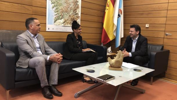Miranda recibe á cónsul de Cuba para concretar as liñas de colaboración en materia cultural de Galicia coa illa centroamericana nos vindeiros meses