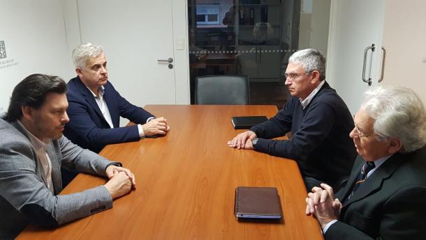 Miranda reúnese cos responsables do Hogar Español de Montevideo para interesarse pola situación das e dos galegos aos que dá servizo grazas á colaboración entre ambas entidades