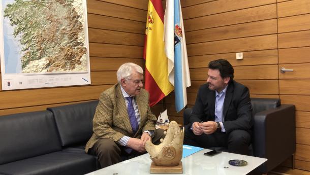 Miranda invita a todos os centros galegos de Madrid a amosar a súa unidade a través do apoio ao Centro Gallego de Madrid na nova etapa que está a emprender
