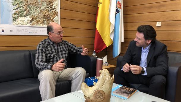 Miranda fixa coa nova directiva do Lar Gallego de Chile as liñas de colaboración en materia cultural para este ano