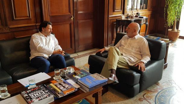 Miranda reforza os lazos institucionais co Goberno cubano e español na súa primeira viaxe do ano á Habana