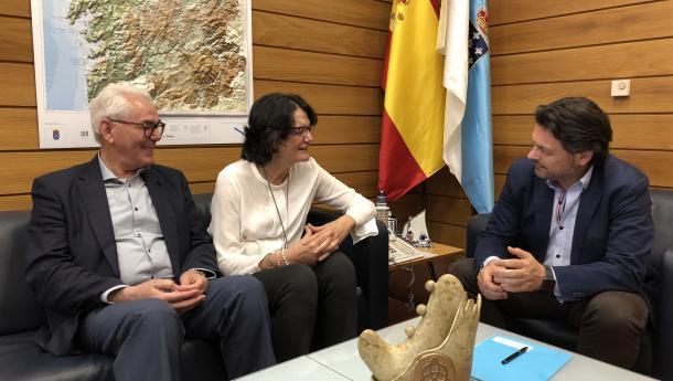 Miranda renueva su compromiso con las actividades de difusión de la cultura gallega que desde hace años lleva a cabo la Casa de Galicia de Córdoba
