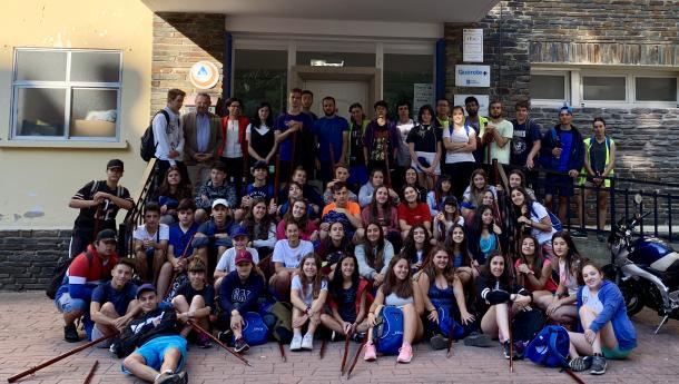 Un centenar de chicos y chicas participa en Lugo en el programa de la Xunta Conecta con Galicia, 67 de ellos descendentes de gallegas y gallegos en el exterior