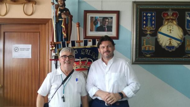 """Miranda invita en Alicante a toda la colectividad gallega de España y el exterior a celebrar """"con orgullo y espíritu de unidad"""" el Día de Galicia"""
