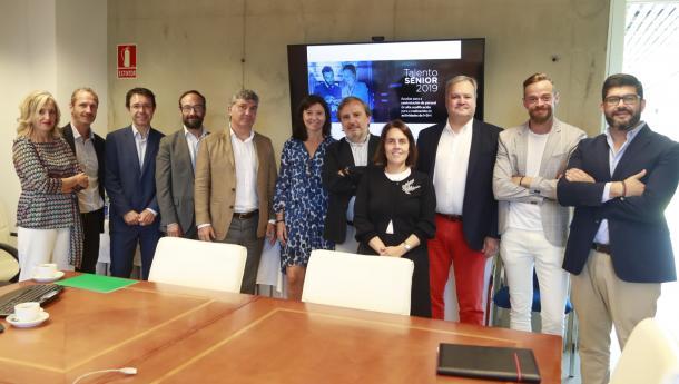 La Xunta presenta a entidades y empresas del ámbito de los recursos humanos los detalles de la nueva convocatoria de Talento Sénior