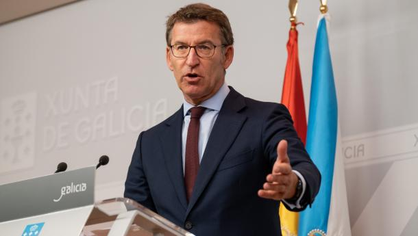 Feijóo anuncia el inicio de la tramitación de la nueva Ley de Acción Exterior y Cooperación, que busca mejorar la proyección de Galicia y el máximo aprovechamiento de las potencialidades que se ofrecen en el exterior