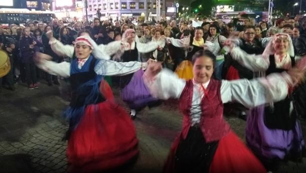 A diáspora galega xuntouse para celebrar o Día de Galicia 2019