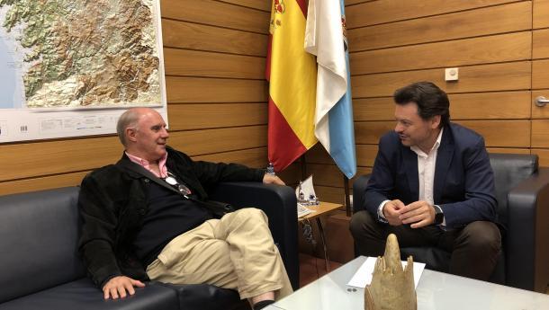 """Miranda salienta o """"labor fundamental"""" das entidades do exterior para dar resposta á situación que atravesan os galegos e galegas en Venezuela"""