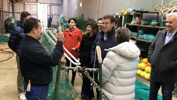 Feijóo acredita a dimensión internacional da frota galega cunhas exportacións que superan os 2.200 millóns de euros e cun incremento dun 70% nos últimos dez anos