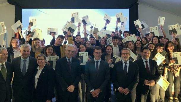Feijóo celebra coa xuventude do exterior as trinta edicións do Conecta con Galicia que permitiu a máis de 9.000 mozas e mozos fortalecer os lazos coa Comunidade
