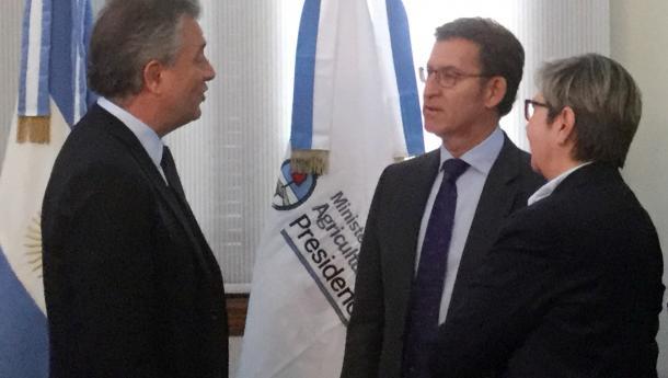Feijóo avanza co ministro de Pesca que case a metade dos barcos que operan en augas arxentinas poidan construírse en estaleiros galegos