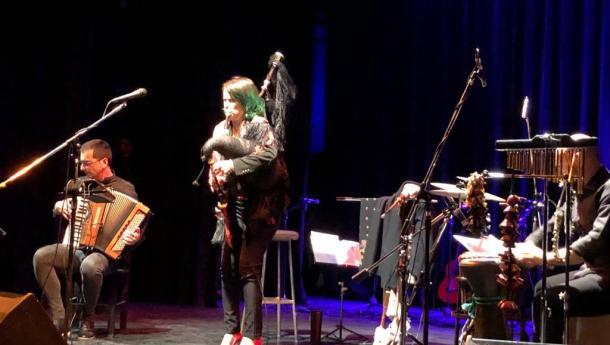 Cristina Pato achega os sons da gaita galega á Xuntanza de músicos galego-arxentinos organizada polo Centro Gallego de Mar del Plata