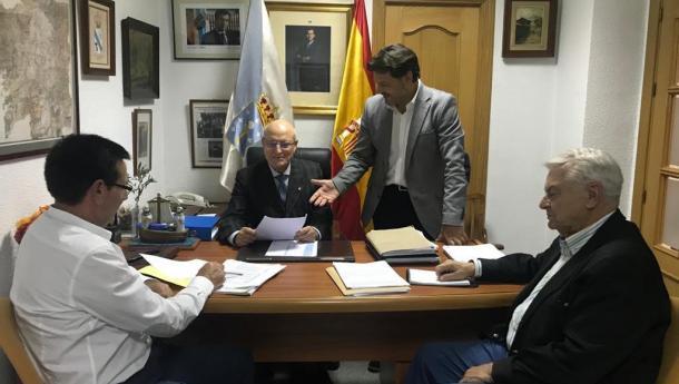 Miranda afonda nas liñas estratéxicas de colaboración co Centro Gallego de Madrid