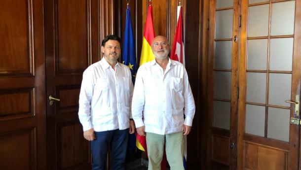 Miranda comeza a segunda viaxe do ano a Cuba no marco da celebración do 500 aniversario da fundación da cidade da Habana