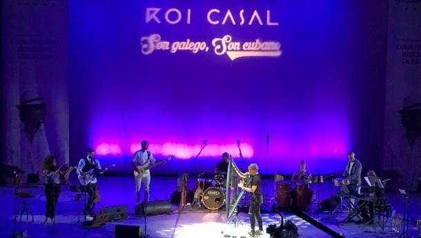 Miranda asiste na Habana ao concerto 'Son galego, son cubano' de Roi Casal