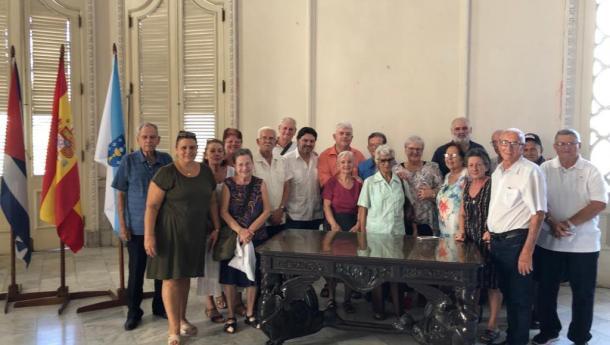 """Miranda agradece ás sociedades galegas de Cuba """"a súa implicación e cooperación"""" para atender aos galegos e galegas da illa"""
