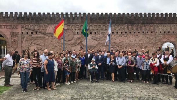 Miranda remata a súa viaxe polo Brasil tras reforzar os lazos institucionais e impulsar a promoción do Xacobeo 2021