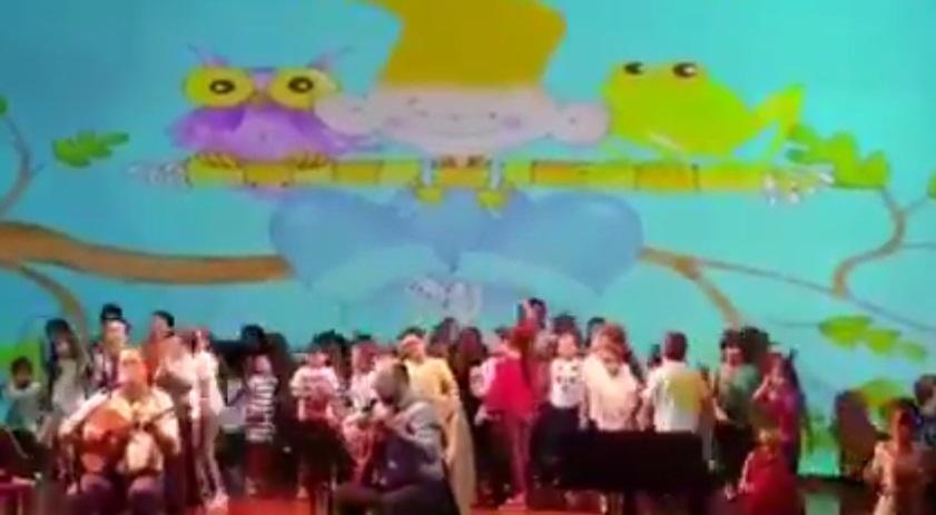 Concierto de canciones infantiles en la Hermandad Gallega de Venezuela